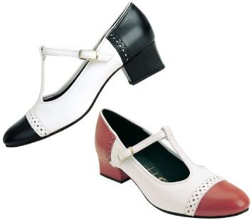 Tic-Tac-Toes Dance Shoes: Lindy, Hop, Hustle, Swing Dance Shoes