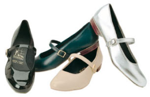 Tic Tac Toe Square Dance Shoes