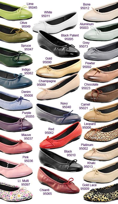 Indigo Flats Shoes